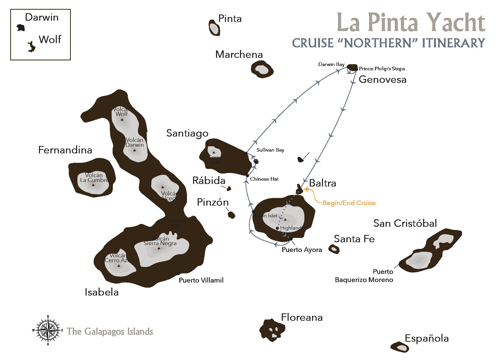 QUITO & GALAPAGOS TOUR WITH LA PINTA
