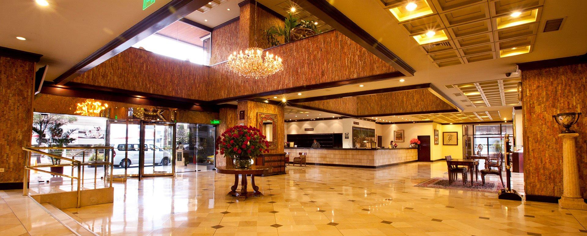 Swissotel lobby