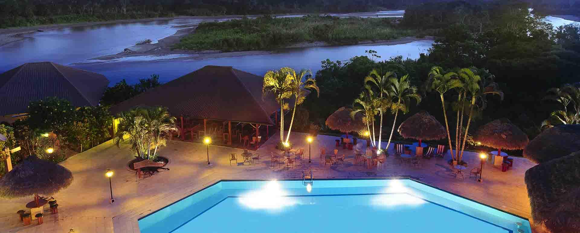 La Casa del Suizo pool