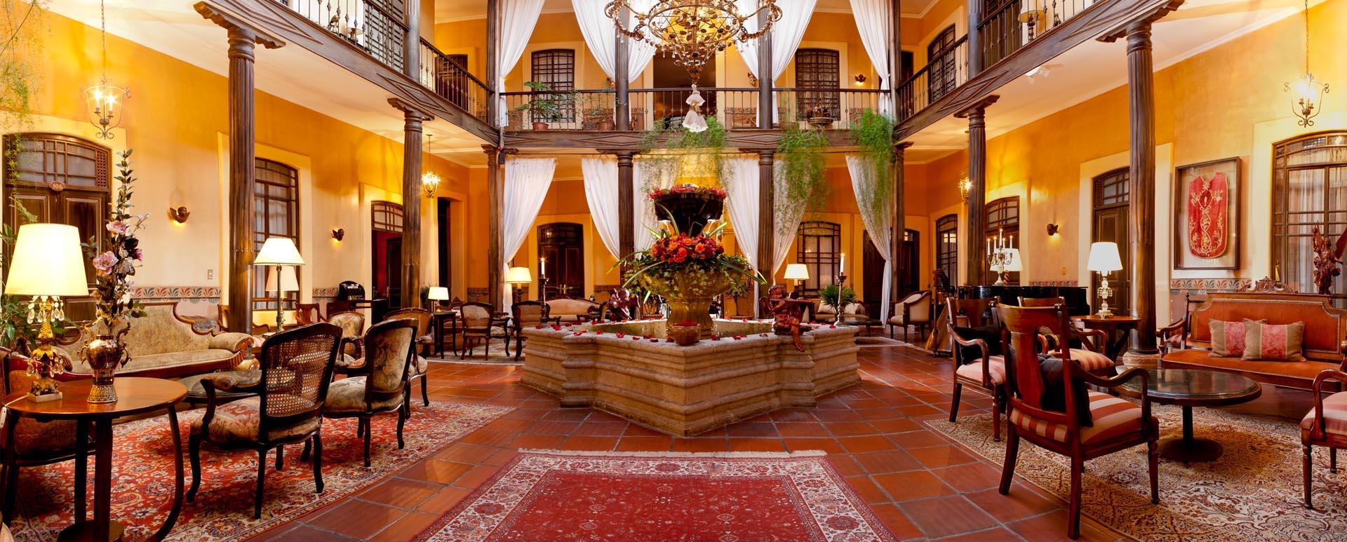 Mansion Alcazar lounge