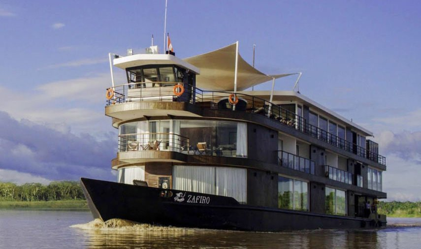 Zafiro Amazon Luxury Cruise exterior