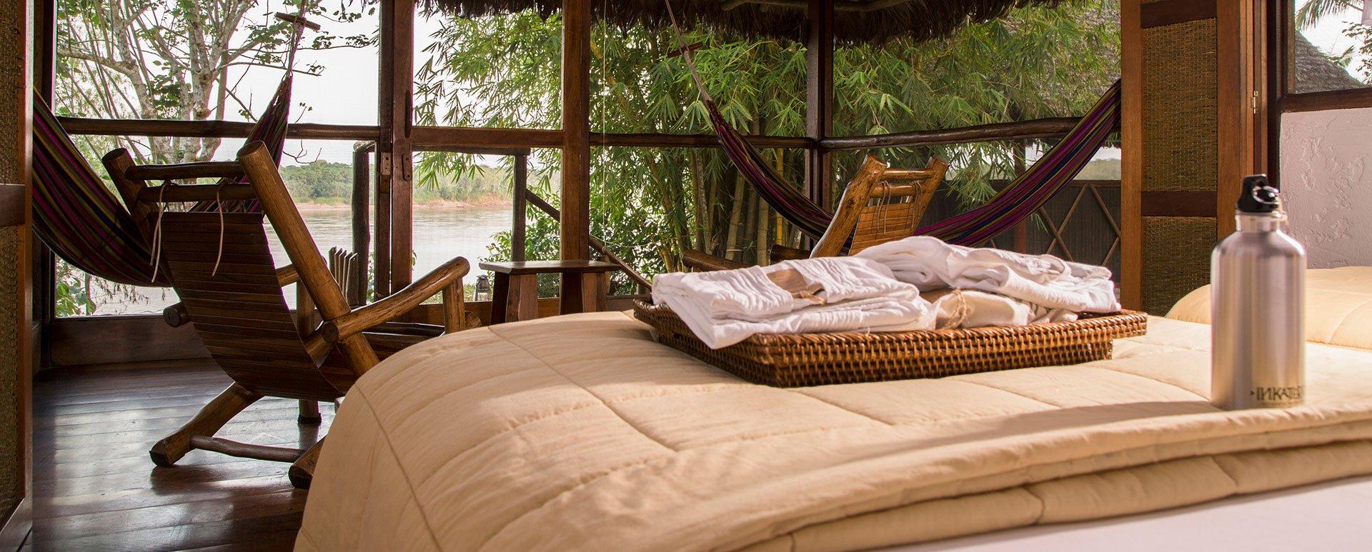 Reserva Amazonica Lodge room