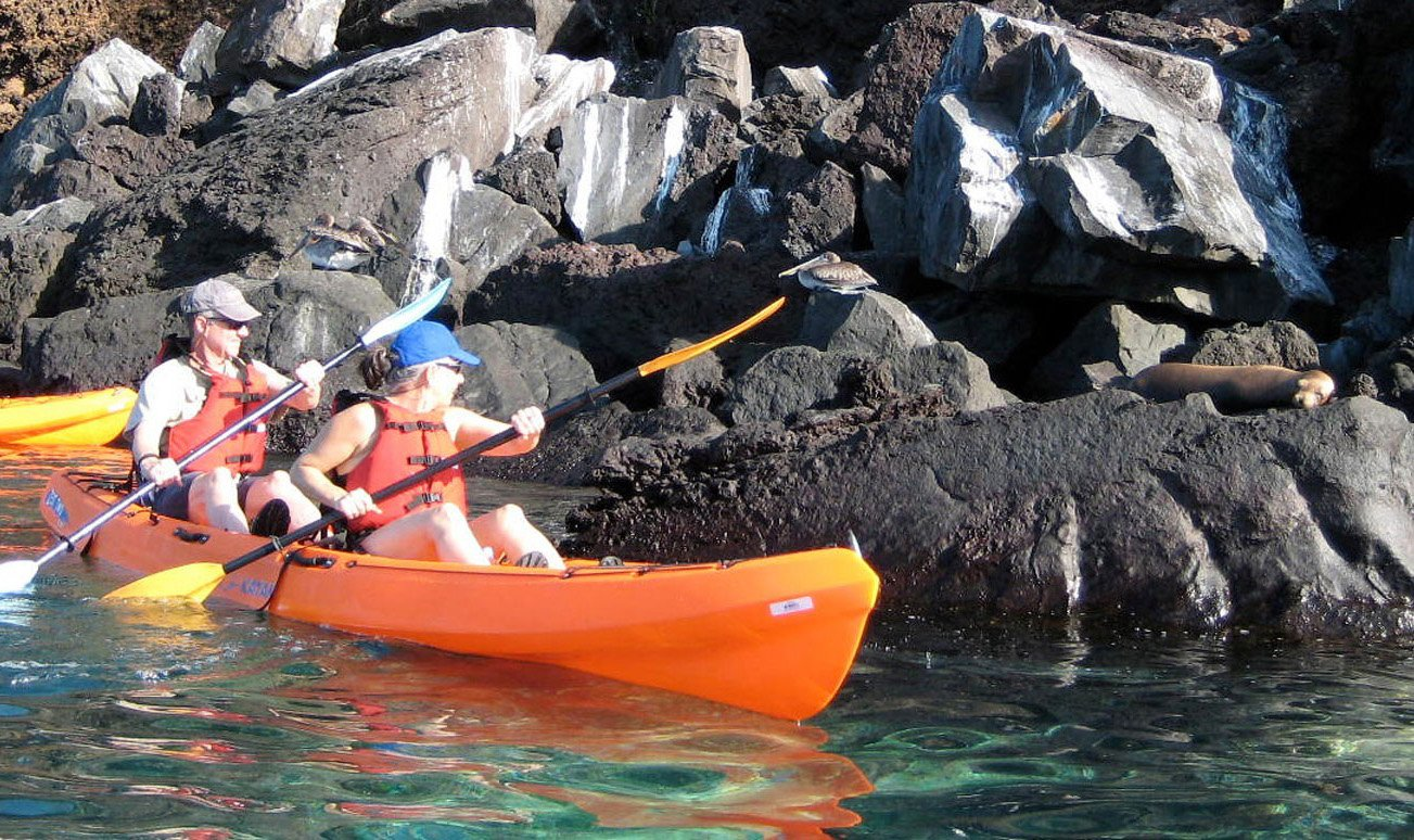 kayaking in San Cristobal