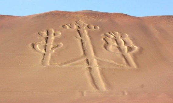 Nazca lines Paracas