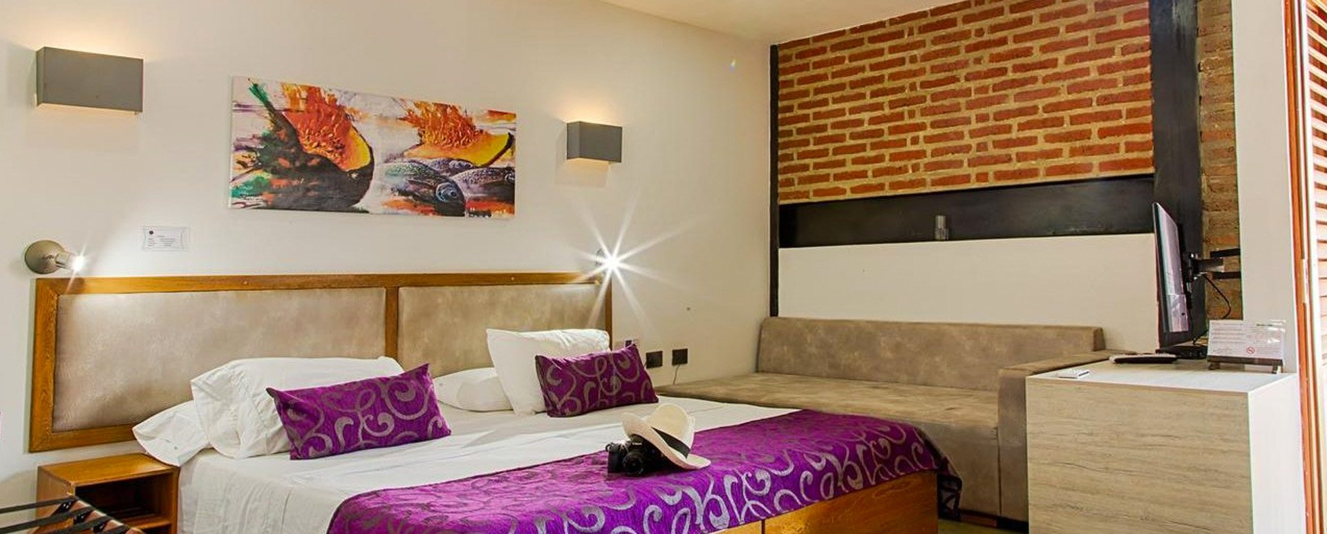 Casa carolina Hotel room