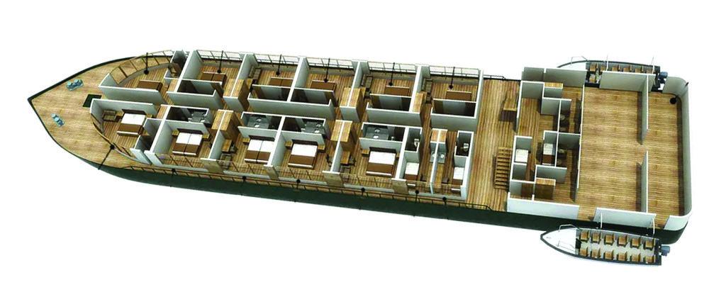 Peru Cruise Delfin III Luxury Amazon River Main Deck