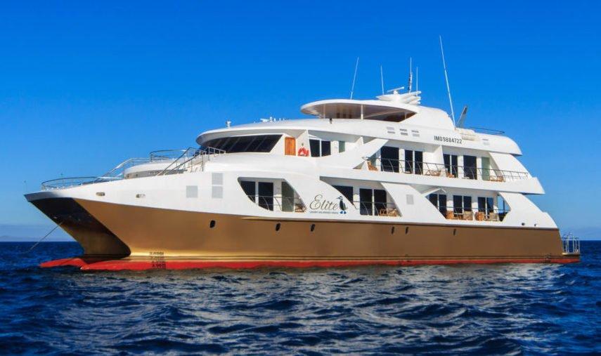 Galapagos Elite Catamaran exterior