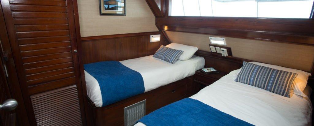 Galapagos Cruise Eric Iguana Twin Cabin