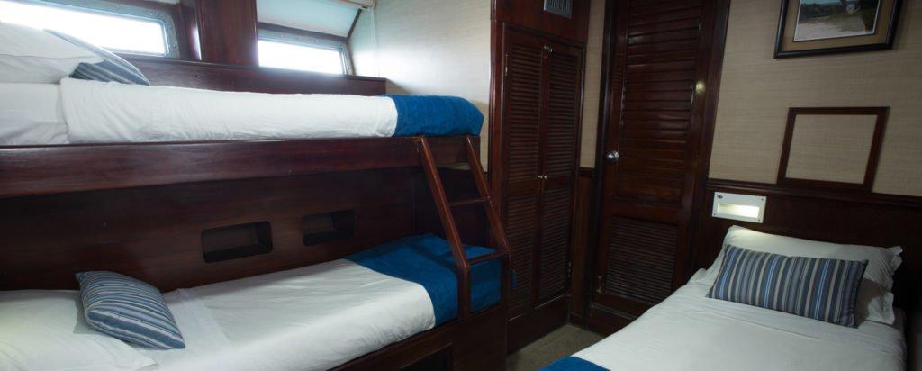 Galapagos Cruise Eric Triple Iguana Cabin