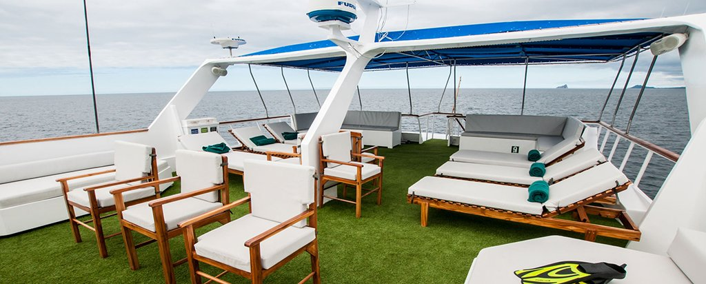 Galapagos Cruise Eric and Letty Yachts Sun Deck