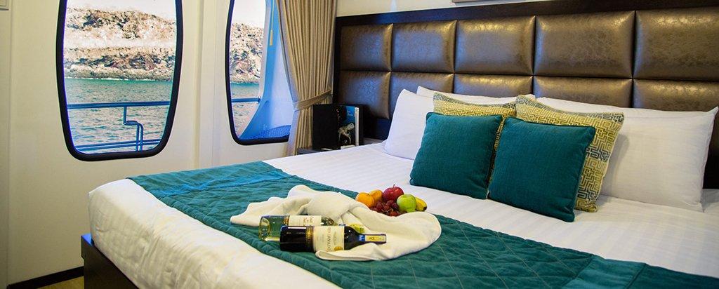 Alya Catamaran Galapagos Cruise Cabin