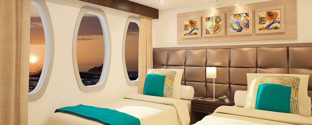 Galapagos Alya Catamaran Cruise Cabin