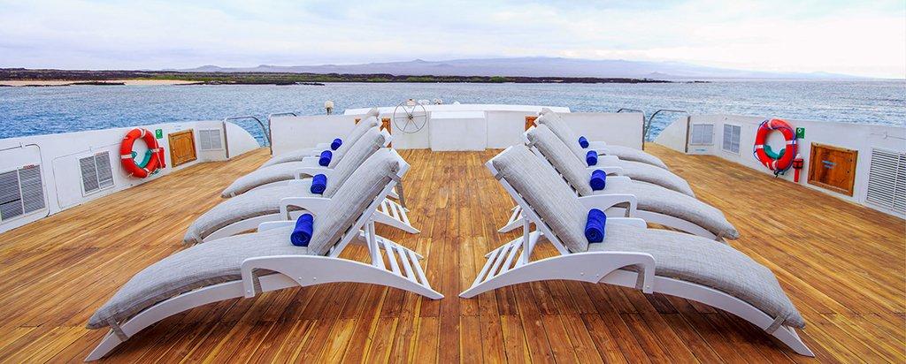 Galapagos Cruise Archipel I Catamaran Sun Deck