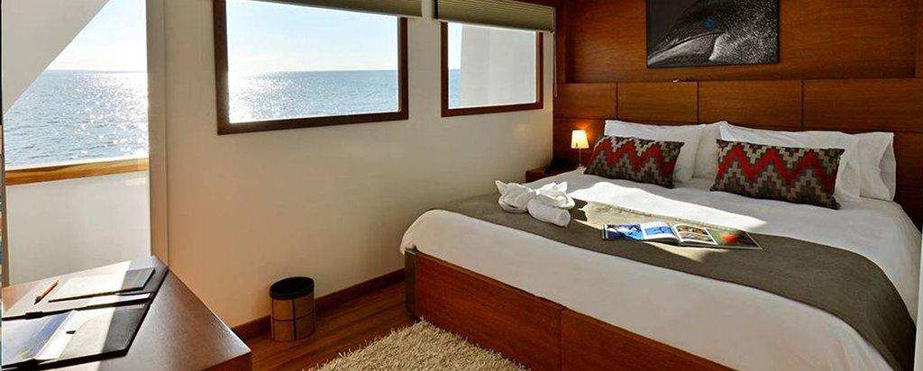 Galapagos Cruise Athala Catamaran Couple Cabin Main Deck