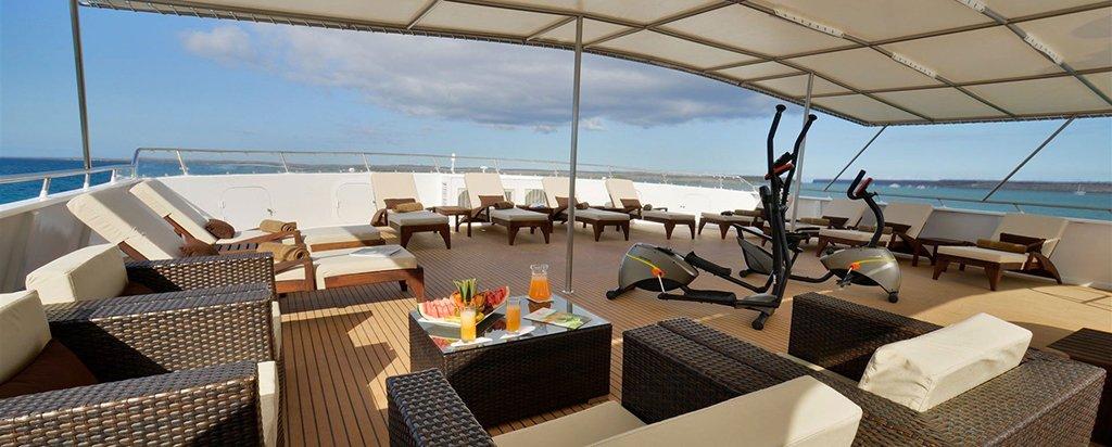 Galapagos Cruise Athala Catamaran Sun Deck