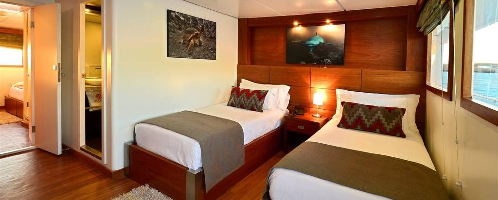 Galapagos Cruise Athala Catamaran Twin Cabin