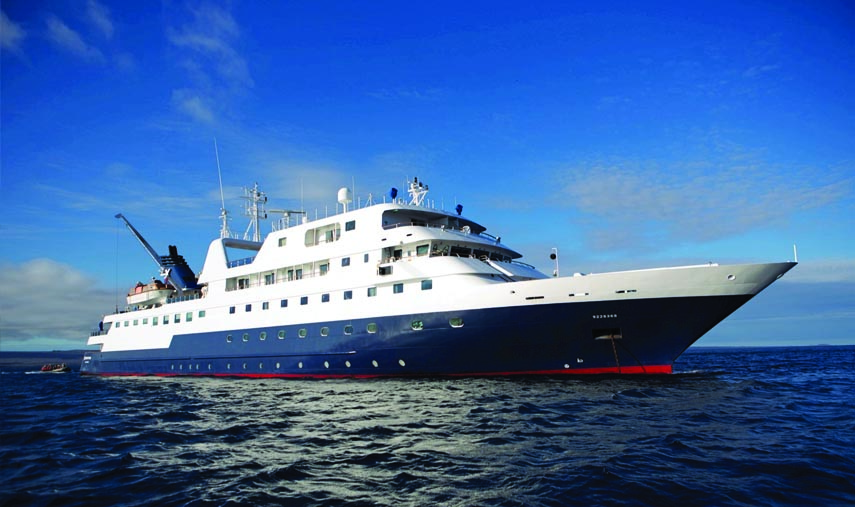 Galapagos Celebrity Xpedition Cruise Exteriorf