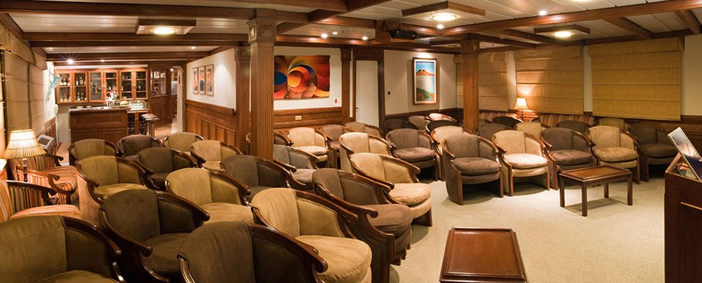 Galapagos Cruise Xperience Luxury Small Ship Main Deck Lounge
