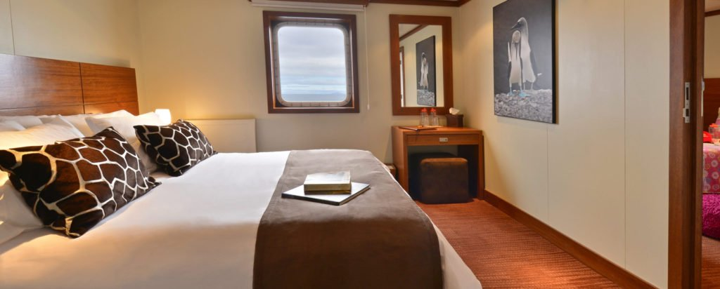 Galapagos Cruise Eclipse Luxury Small Ship Superior Couple Cabin