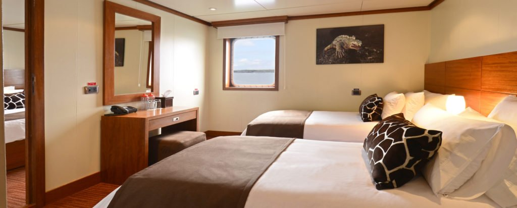 Galapagos Cruise Xperience Luxury Small Ship Superior Twin Cabin