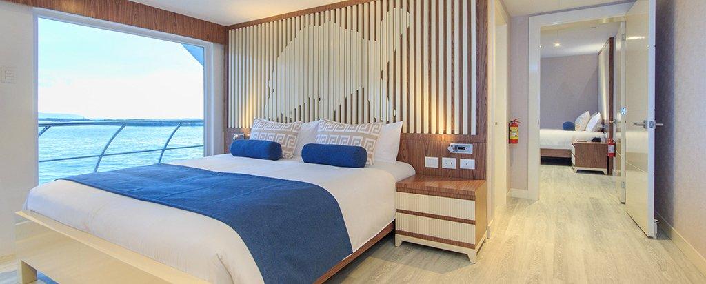 Galapagos Cruise Elite Catamaran Golden Suite Interconnected Cabins