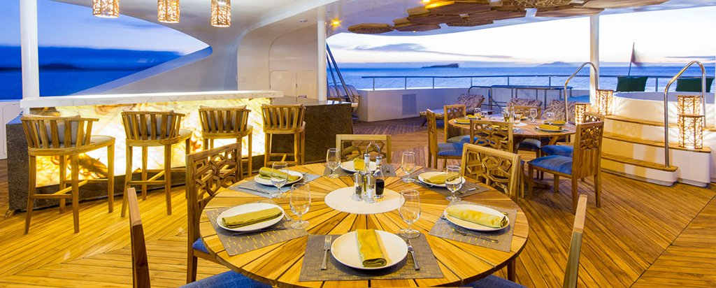 Galapagos Cruise Elite Catamaran Sky Deck