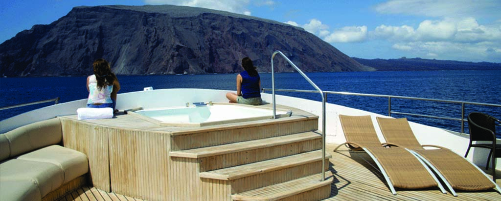 Galapagos Cruise Integrity Yacht Hot Tub
