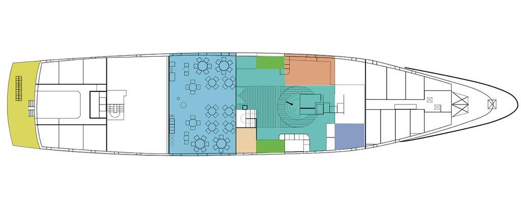 Galapagos Cruise La Pinta Yacht Main Deck
