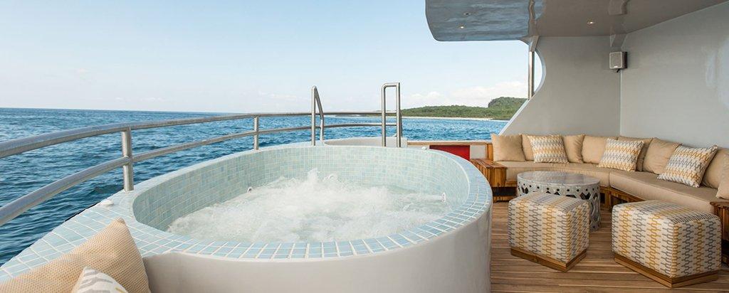 Galapagos Cruise MV Origin Hot Tub