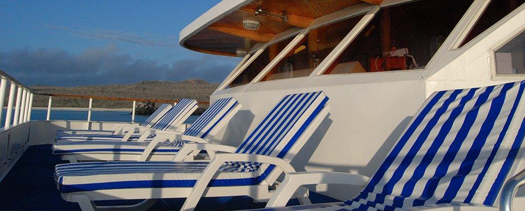 Galapagos Cruise Millennium Catamaran Bridge Area