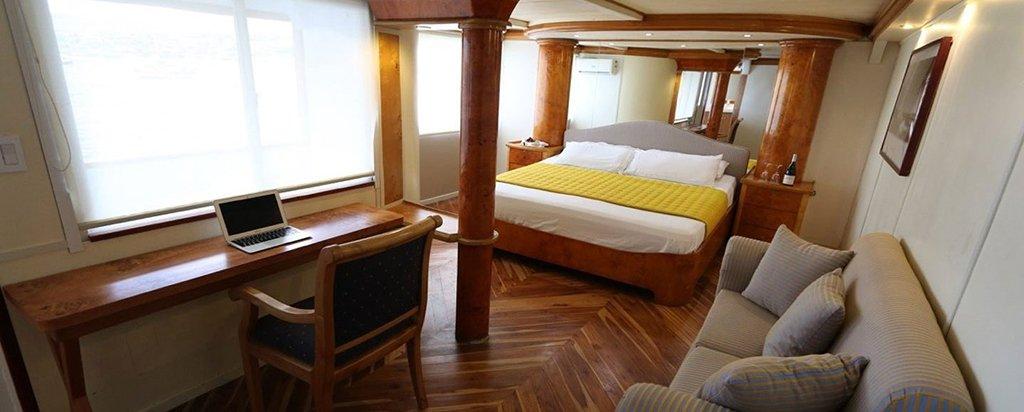 Galapagos Cruise Millennium Catamaran Suite Couple Cabin