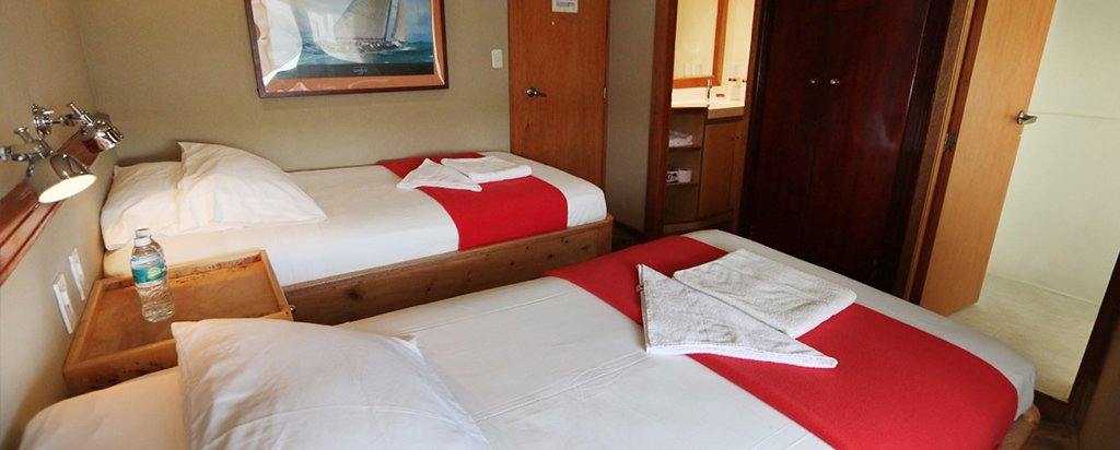 Galapagos Cruise Millennium Catamaran Twin Cabin