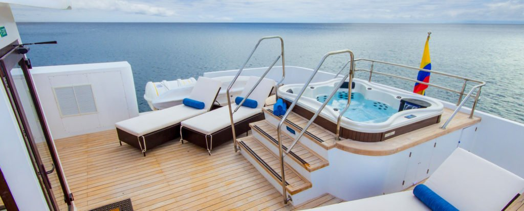 Galapagos Cruise Natural Paradise Hot Tub