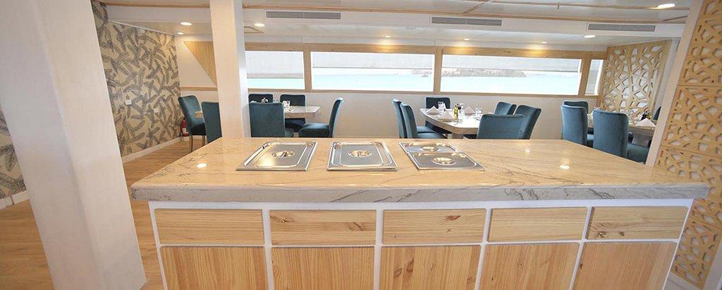 Galapagos Cruise Sea Star Journey Dining Area
