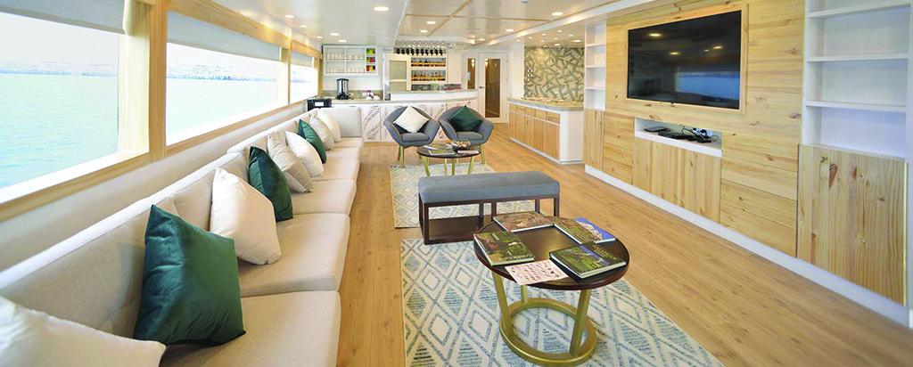Galapagos Cruise Sea Star Journey Main Deck Lounge