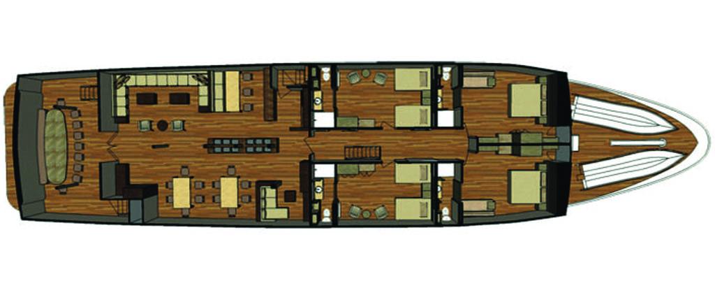 Galapagos Cruise Sea Star Journey Main Deck