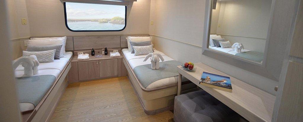 Galapagos Cruise Seaman Journey Main Deck Twin Cabin