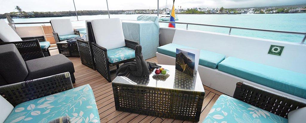 Galapagos Cruise Seaman Journey Resting Area