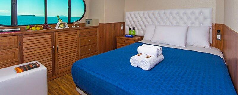 Galapagos Cruise Tip Top II Catamaran Main Deck Couple Cabin