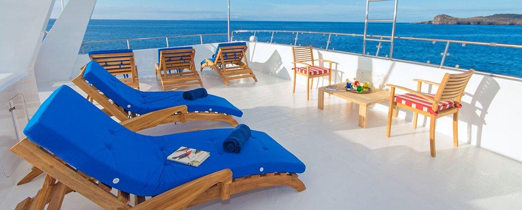 Galapagos Cruise Tip Top II Catamaran Sun Deck
