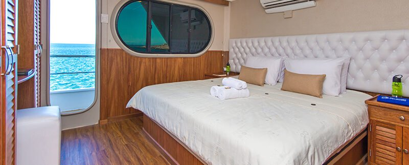 Galapagos Cruise Tip Top II Catamaran Upper Deck Couple Cabin