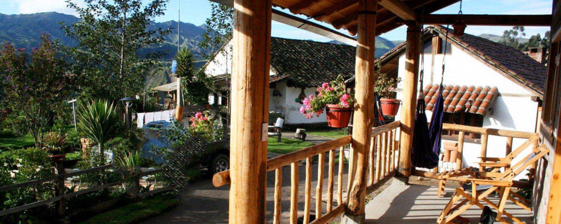 Mama Hilda Lodge porch
