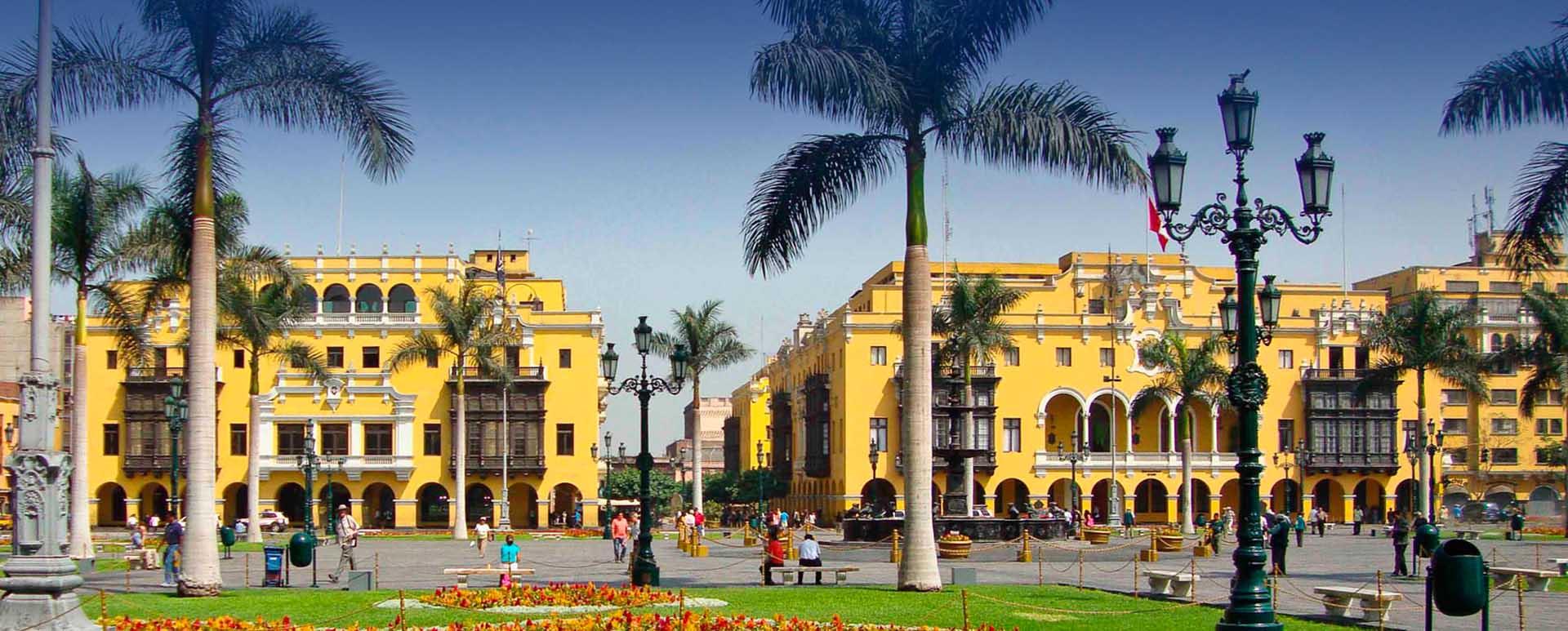 Lima Peru old town