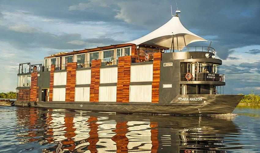 Aria Luxury Amazon River Cruise