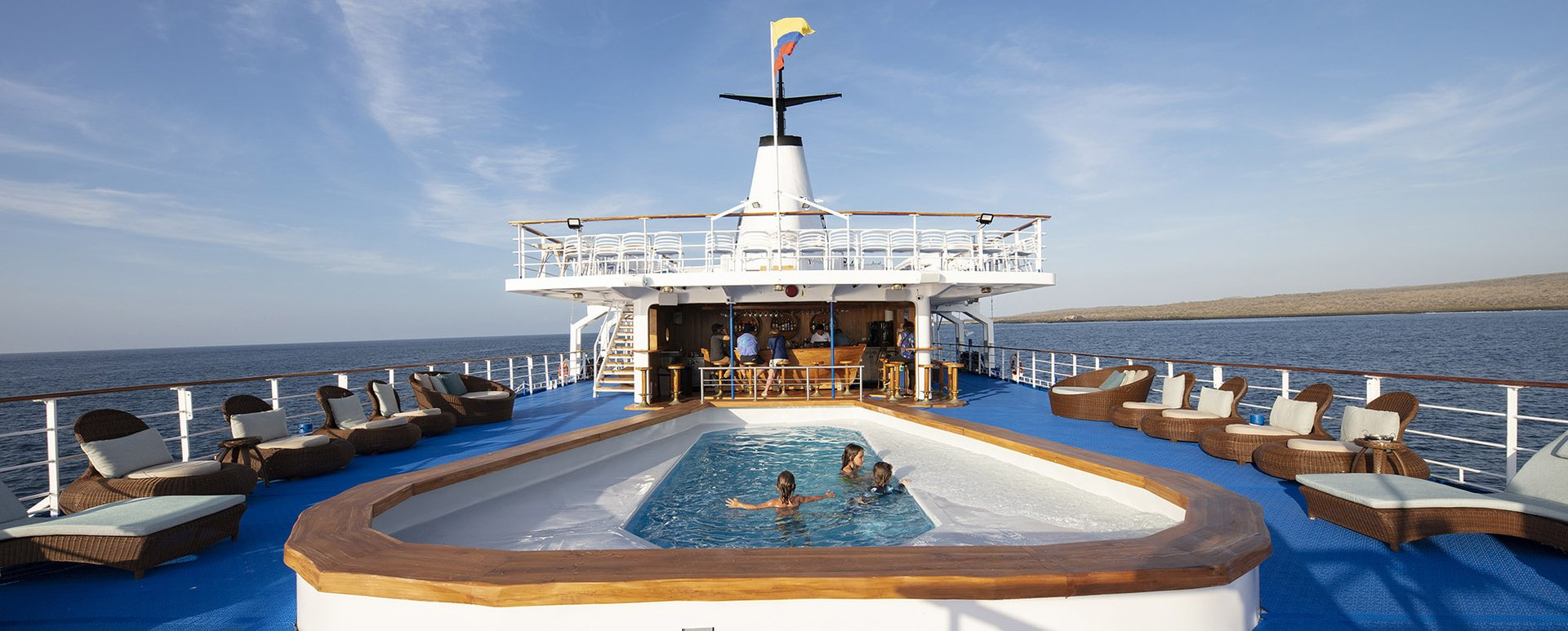 Galapagos Legend Cruise pool