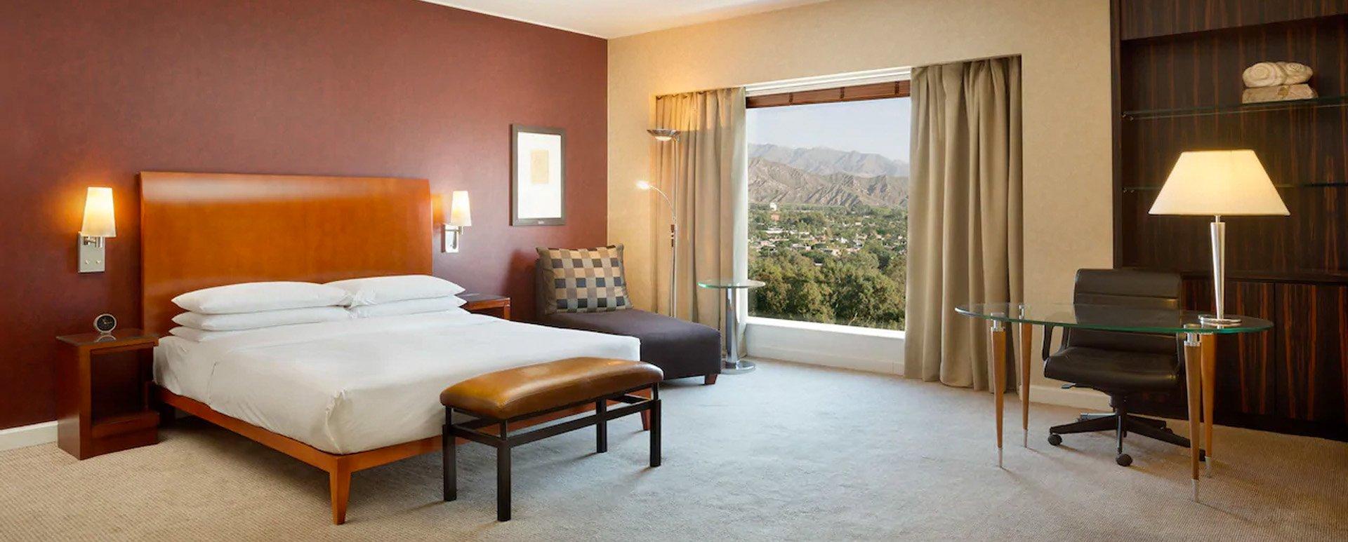 Park Hyatt hotel suite