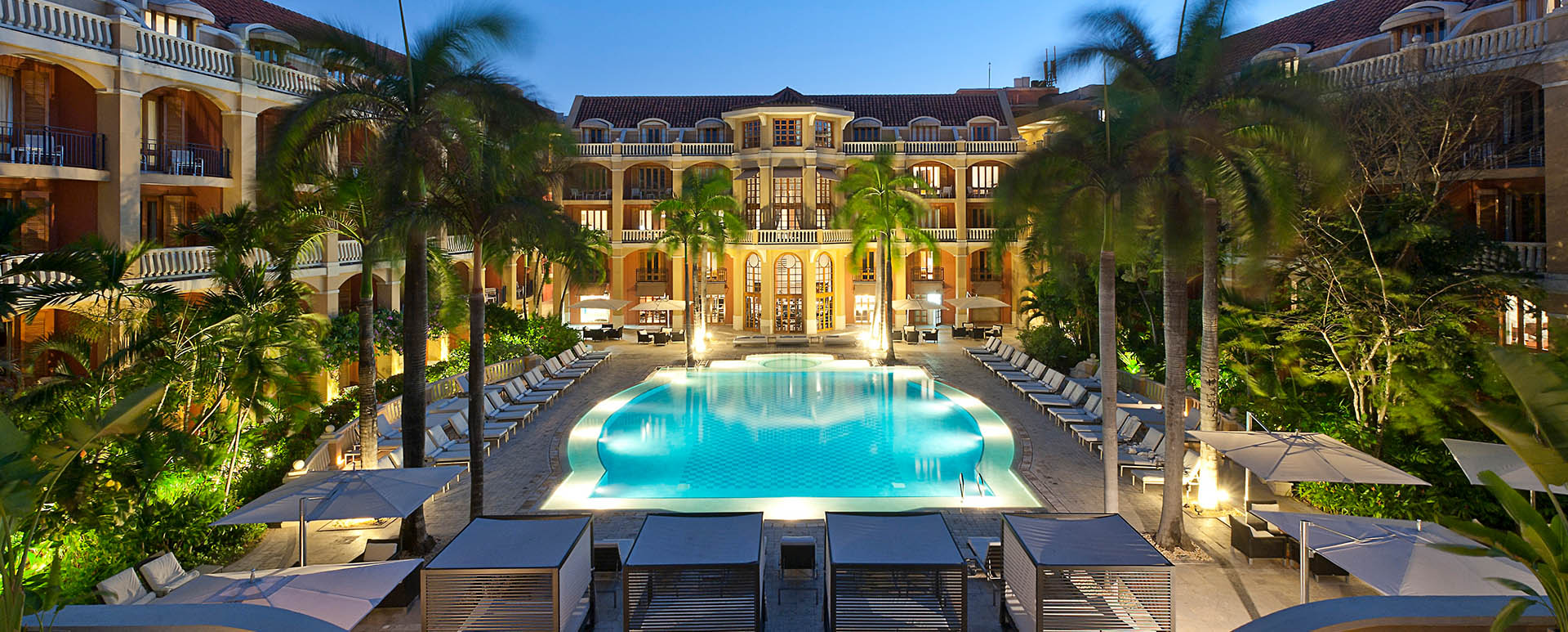 Santa Clara Hotel pool