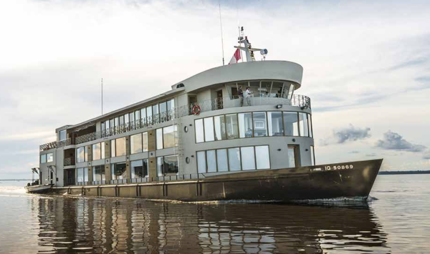 Delfin III Luxury Amazon River Cruise exterior