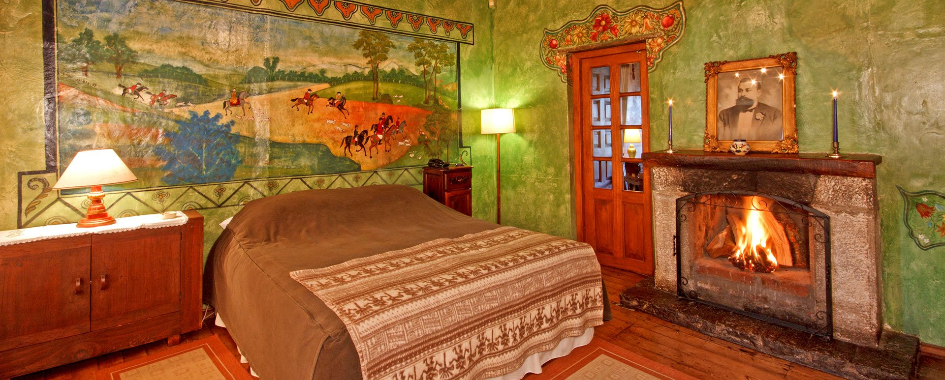 Hacienda San Agustin de Callo room