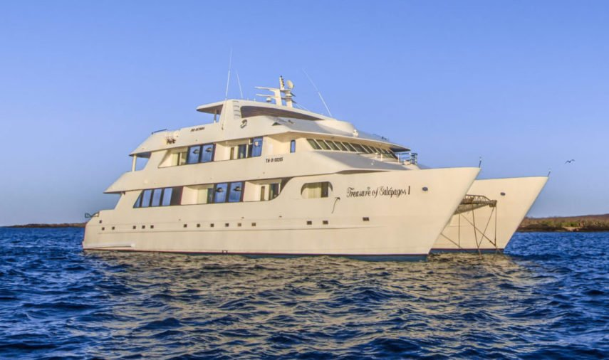 Treasure of the Galapagos Catamaran